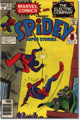 Spider Super Stories #25