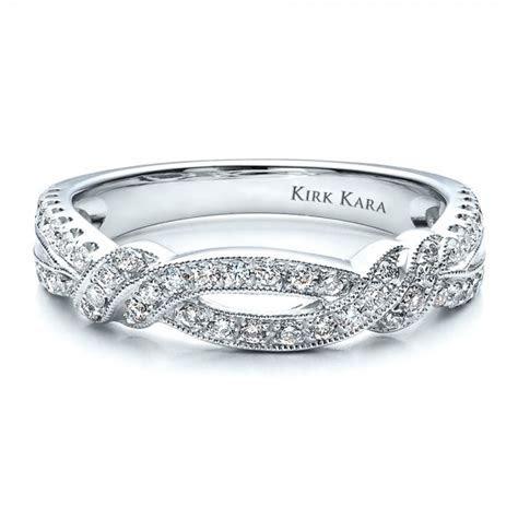 Diamond Split Shank Wedding Band with Matching Engagement