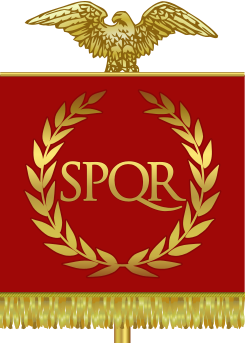 Vexilloid of the Roman Empire.
