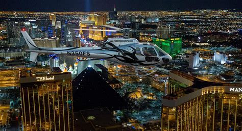Las Vegas Night Strip Helicopter Flight Wedding Ceremony
