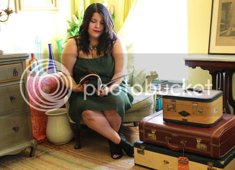 Junarose Green Pleated Dress new york city plus size fashion, canadian plus size fashion, plus size pleated dress, junarose, nyfw ss16, new york fashion week,