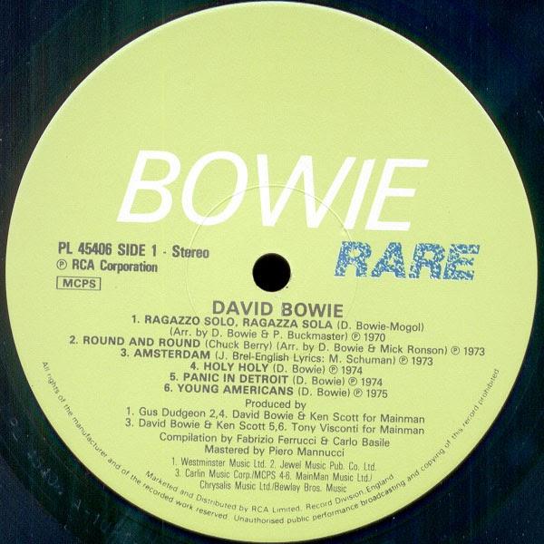 David Bowie Ragazzo Solo Ragazza Sola Versione Italiana Di Space Oddity