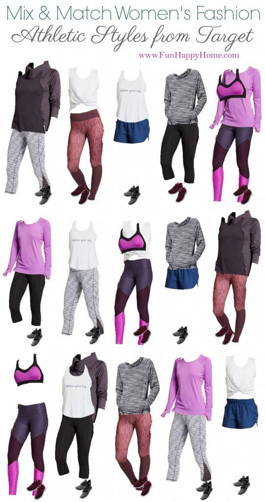 Cute Workout Clothes Mix Match Workout Clothing