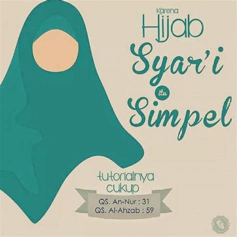 kata mutiara hijab muslimah wanita  lengkap