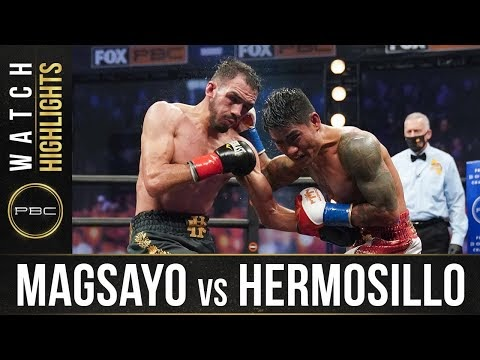 Boxing HIGHLIGHTS: Magsayo vs Hermosillo