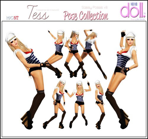 Tess pose Collection