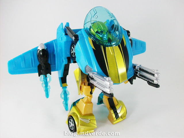 Transformers Jetpack Bumblebee Animated - modo robot con Jetpack