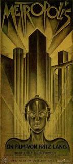 Afiche original alemán de 'Metrópolis'