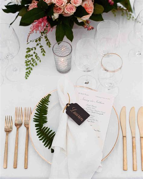 13 Alternatives to Traditional Paper Place Cards   Martha