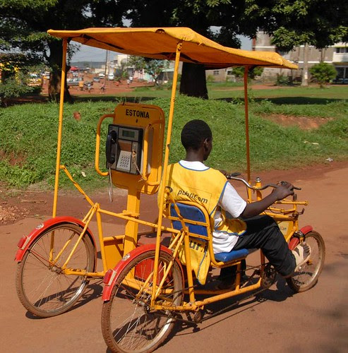 Telefone móvel africano