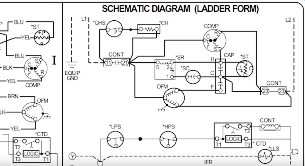 Air Conditioning Wiring Schematic