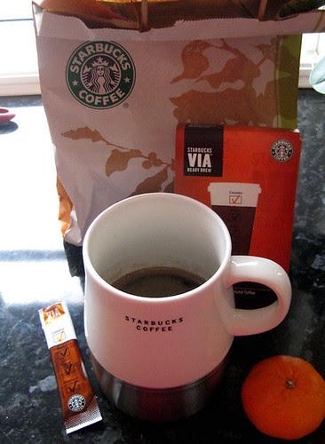 starbucks' instant :: pulverkaffe