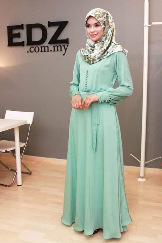Hijab Maxi Style 20 Chic Ways To Wear Hijab With Maxi dress