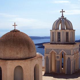 Santorini Chapels by Ariil Davidoff (loupeclean) on 500px.com