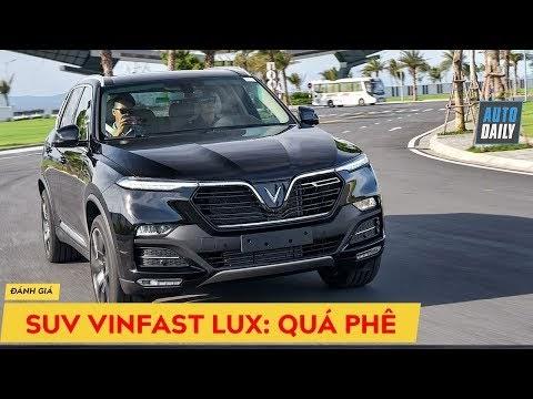 Watch  Đánh giá xe SUV VinFast Lux SA2.0 giá từ 1,414 tỷ: Treo khí nén, dáng oai phong VinFast Lux Review