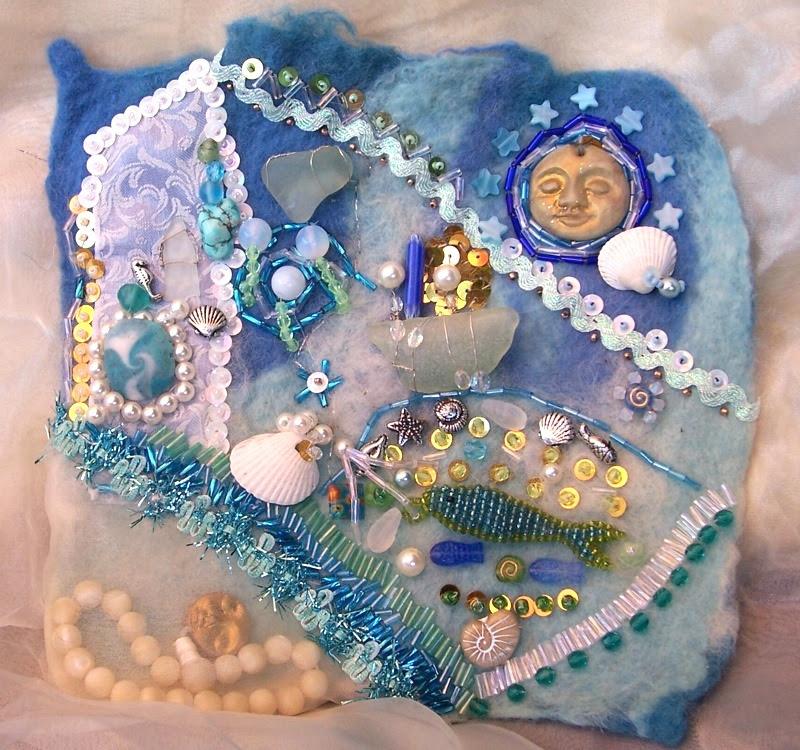 Mermaid Embroidery