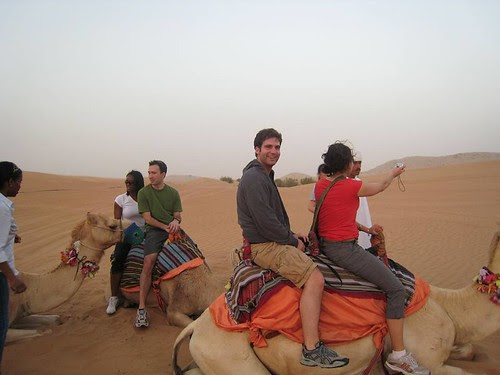 Place to visit in Dubai: Camel Safari Inwards Dubai