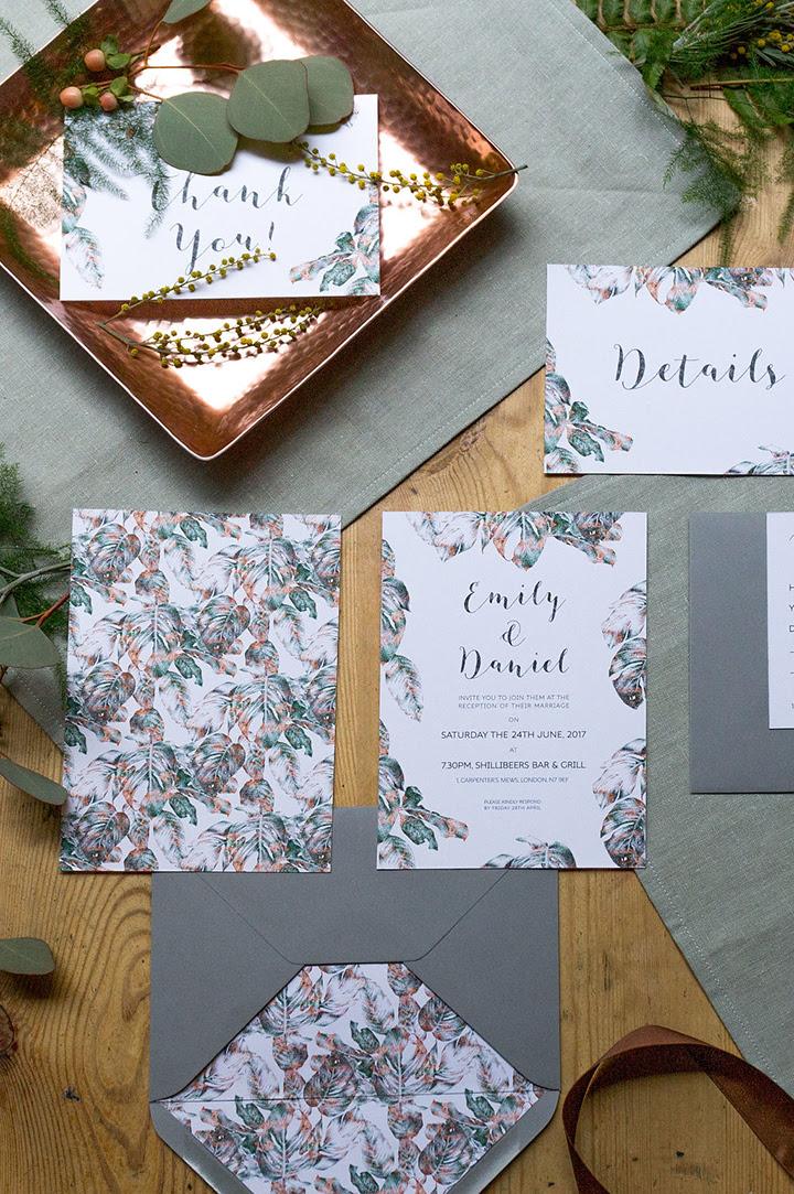 Dieser wunderschöne botanische erfüllt die Industrie-wedding-Shooting bietet Kupfer, grün und eine Rustikale Atmosphäre