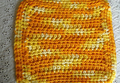 Crocheted Dishcloth #1