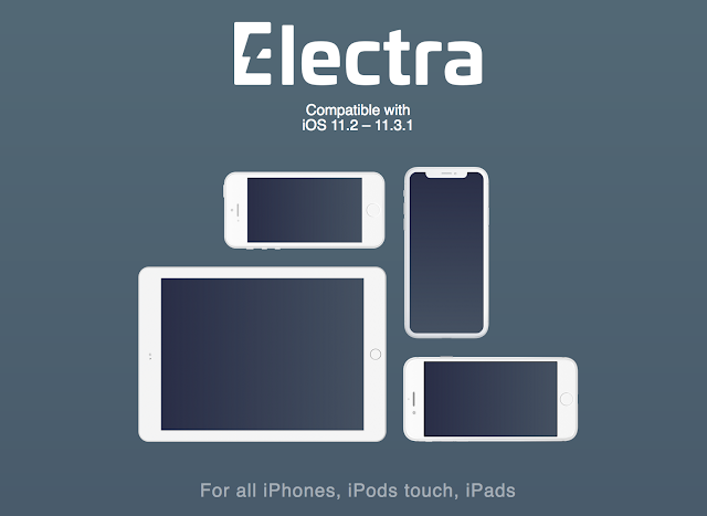 You Can Now Jailbreak Your iOS Devices That's Running  iOS 11.2 To iOS 11.3.1 With Electra1131