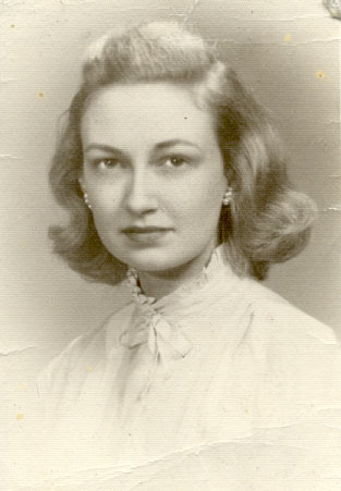 Dr. Ruth Anne Johnson Funk, 1950s
