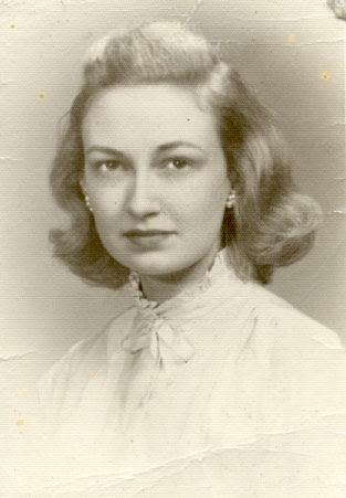 Dr. Ruth Anne Johnson Funk, 1950s