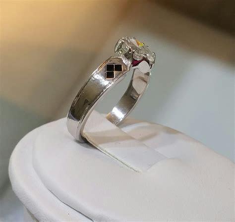 Buy a Handmade Batman Marquise Cut Engagement Ring 14 Kt