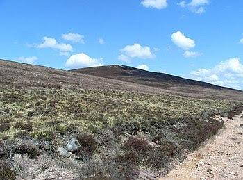 English: Clachan Yell Looking North towards th...