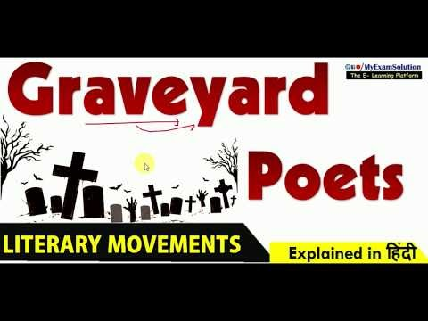 What do you understand by Graveyard Poets?