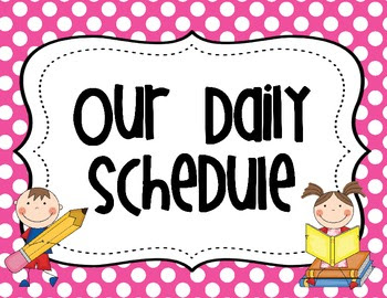1000+ images about Classroom Schedule on Pinterest | Polka dot ...