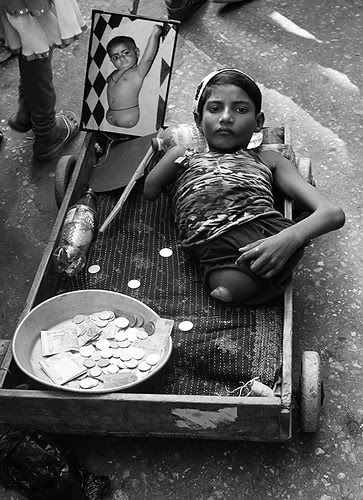 Beggars Cant Be Choosers .. .. Waiting For My Aadhar Card by firoze shakir photographerno1