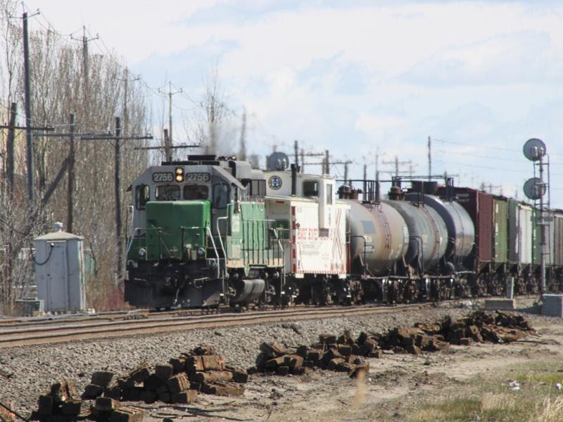 BNSF 2756 in Winnipeg