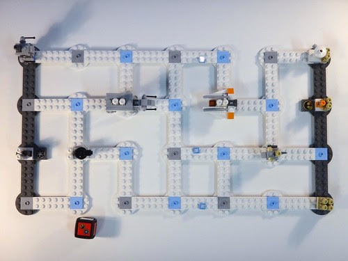LEGO Battle of Hoth Board