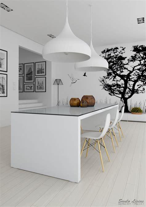 black  white kitchen interior design ideas