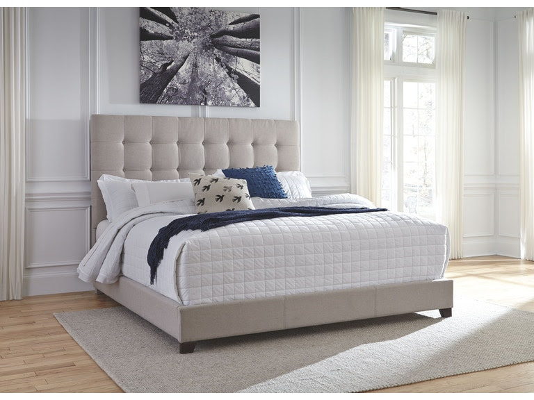 Signature Design By Ashley Bedroom King Upholstered Bed B130 582