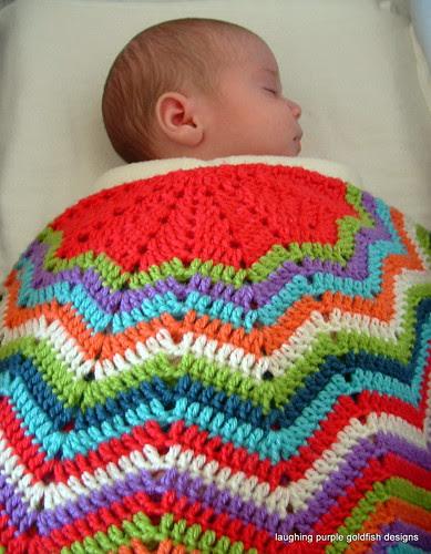 12 point ripple blanket