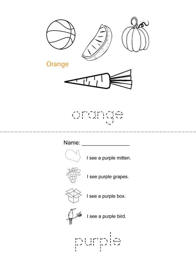 Color Review Book - Twisty Noodle