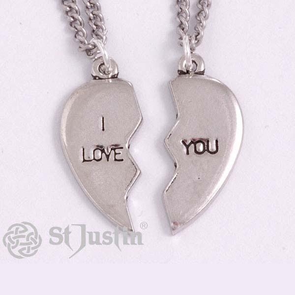 Kettingen Broken Heart I Love You De Spirituele Shop