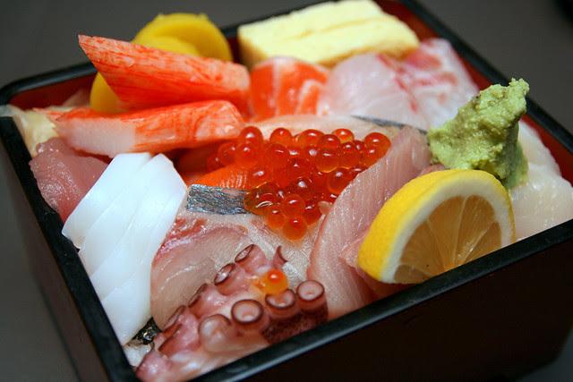Chirashi Sushi from Kaiho Sushi