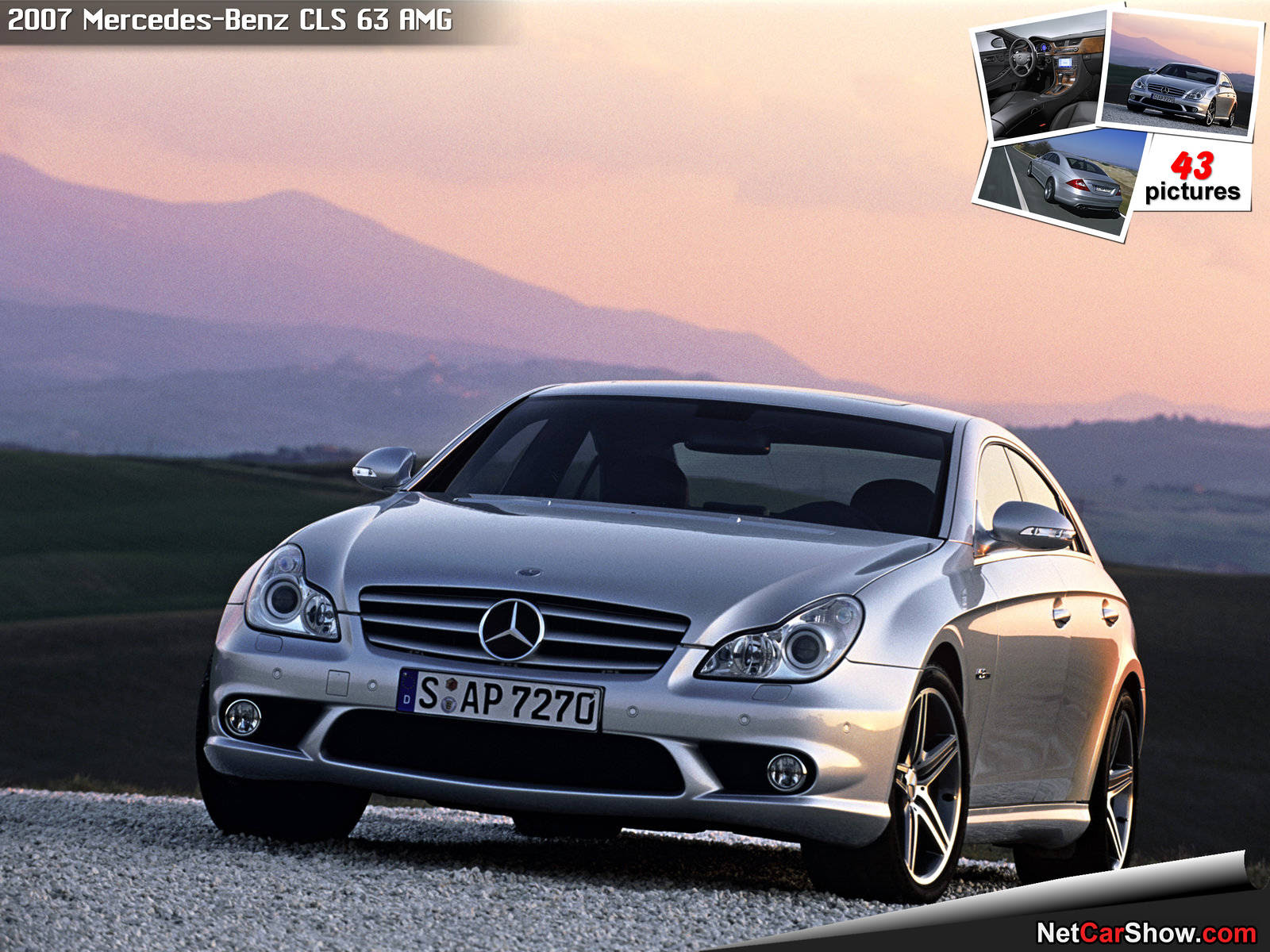 Mercedes-Benz CLS 63 AMG (2007)