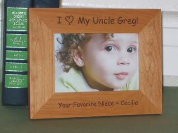 I Love My Uncle Picture Frame Z Zxyz 2019