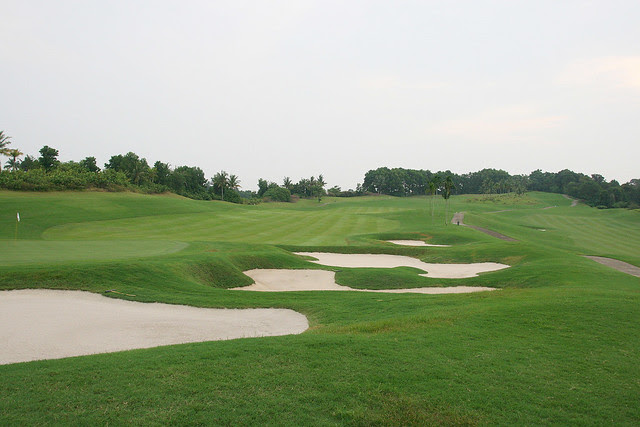 There are two 18-hole golf courses