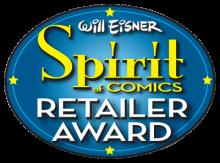 Eisner Retailer Award logo