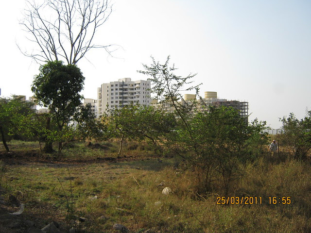 "View of Prakriti and Aditya Shagun Comfort Zone in Balewadi - ""West Aundh (!)"" - from DSK Gandhakosh Baner Pune"