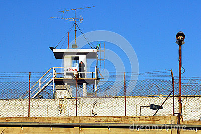 Shikma Prison - Israel Editorial Photography