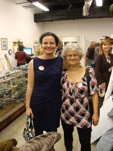 Austin:  me (BlossomKyle) + Margaret (LoneStarLady) at Silk Road