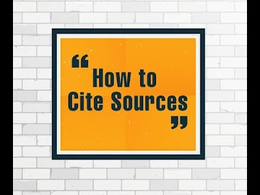 How to Cite Sources in Research Paper of Thesis