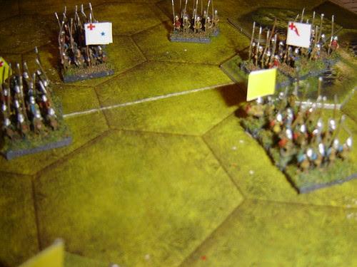 Fierce Infantry Engagement