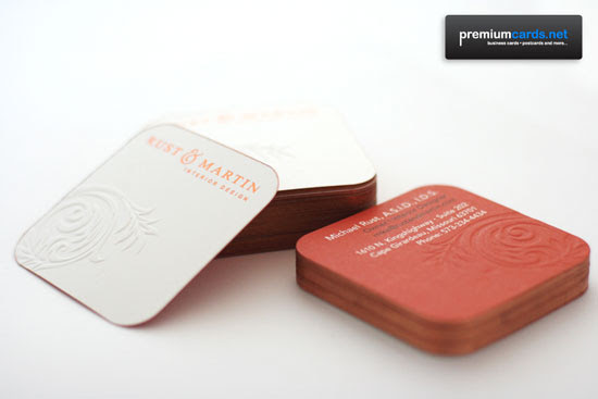 Creative And Intriguing Business Cards - 28 Examples