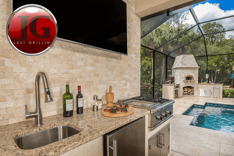 Outdoor Kitchen Design & Installation - Just Grillin Tampa, FL